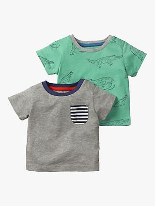 ed42750beb0 Mini Boden Baby Alligator Patch Pocket T-Shirt