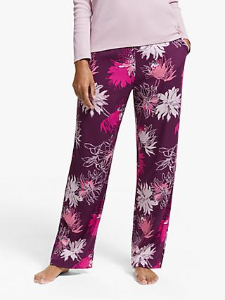 John Lewis & Partners Stevie Floral Pyjama Bottoms, Pink