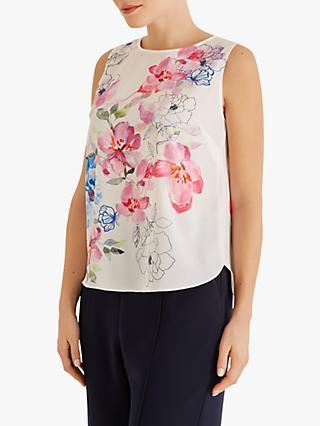 4c95f8e4b7c1f1 Fenn Wright Mason Petite Frangipani Floral Sleeveless Top