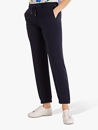 Fenn Wright Manson Petite Tamarind Drawstring Casual Trousers, Navy