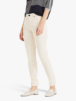Phase Eight Feobee Cord Jeans, Winter White