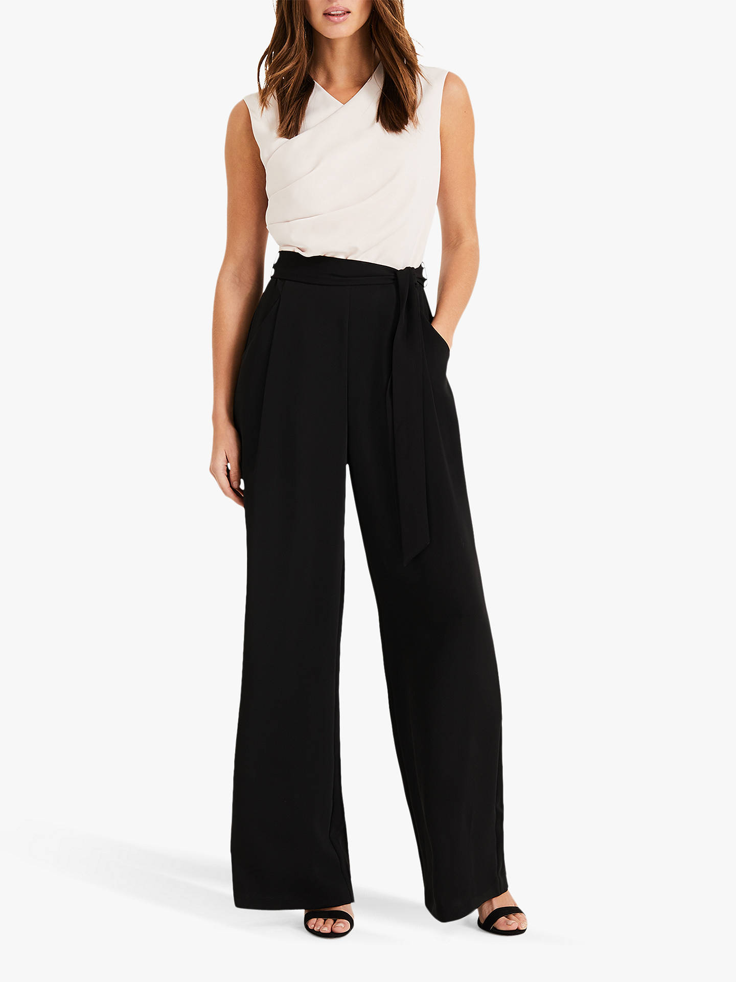a098624de51 Phase Eight Ros Contrast Jumpsuit at John Lewis   Partners