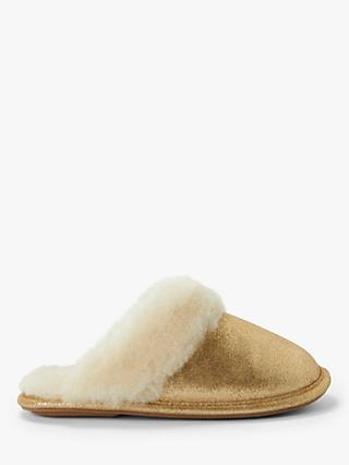 John Lewis & Partners Sheepskin Mule Slippers