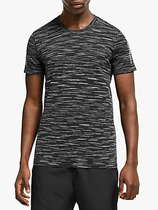adidas 25/7 Decode Running Top, Black