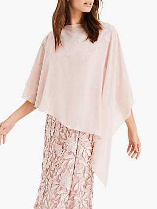 Phase Eight Sinead Asymmetric Cover Up, Petal Pink