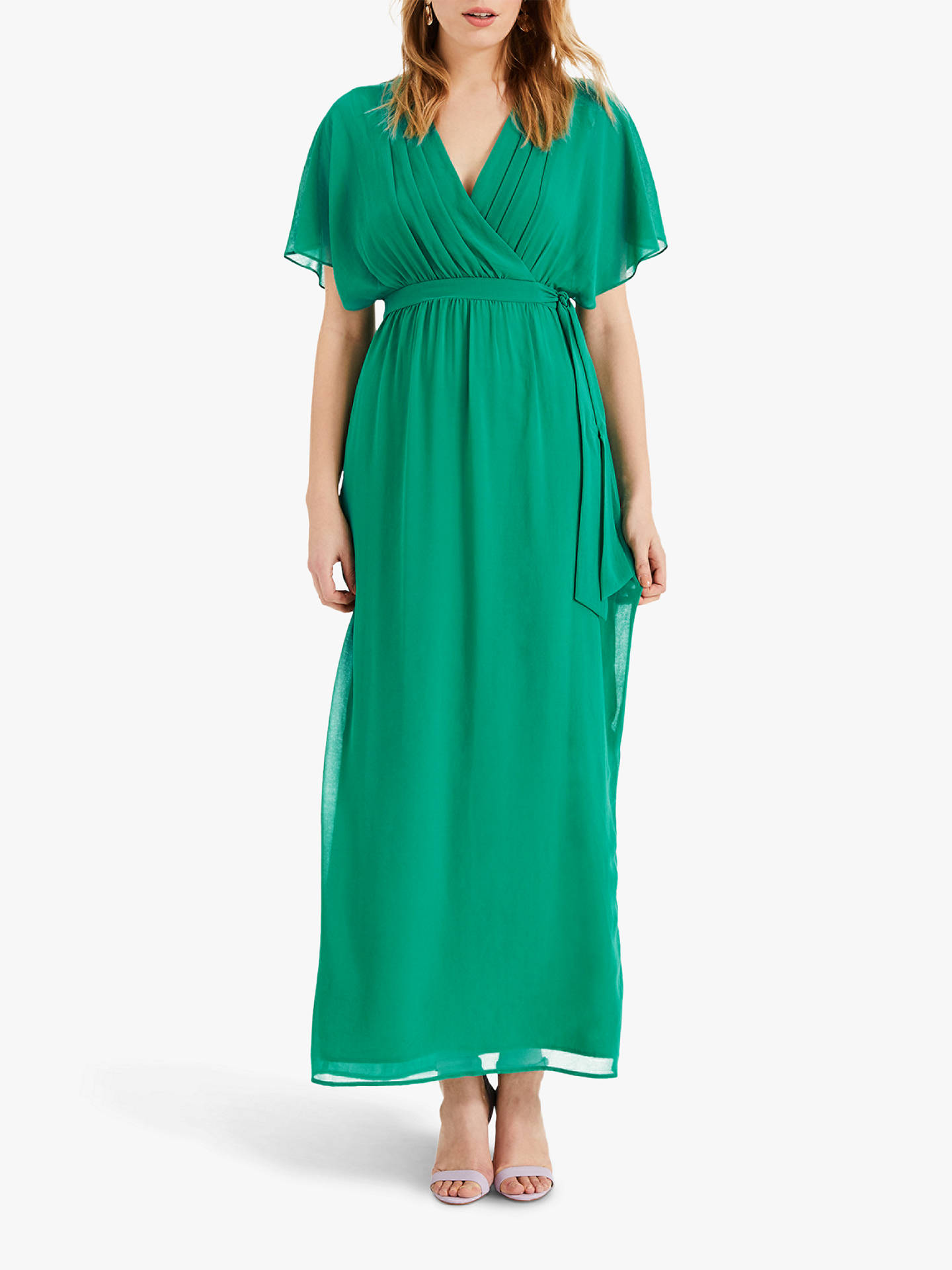 1f6eab3e2d Buy Phase Eight Hyria Chiffon Maxi Dress, Shamrock, 8 Online at  johnlewis.com ...