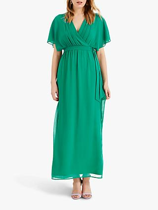Phase Eight Hyria Chiffon Maxi Dress, Shamrock