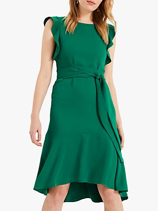 Phase Eight Victoriana Dress, Emerald