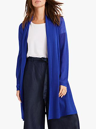 Phase Eight Lili Sheer Cardigan, Lapis