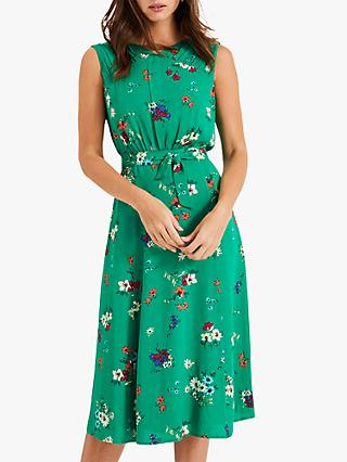 Phase Eight Meryl Floral Dress, Emerald