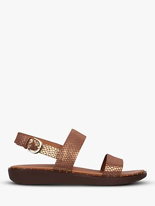 FitFlop Barra Double Strap Sandals