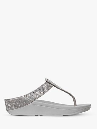 FitFlop Isabelle Toe Post Sequin Embellished Sandals