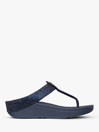 0c86f5823f1 FitFlop Isabelle Toe Post Sequin Embellished Sandals