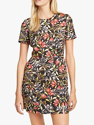 French Connection Cadenica Stretch Floral Dress