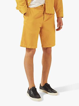 Jigsaw Garment Dye Cotton Linen Shorts