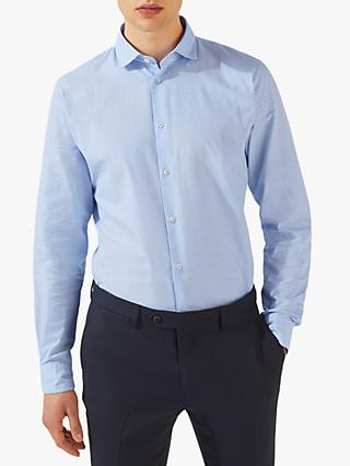 ed3c0a9814a2d Jigsaw End on End Slim Fit Shirt