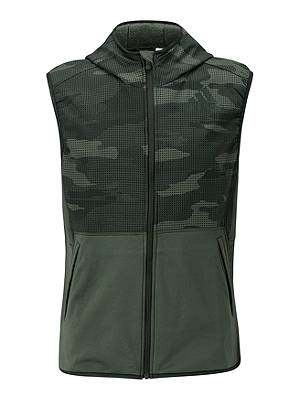 Buy adidas FreeLift Climaheat Camo Pack Sleeveless Training Jacket, Legend Earth, M Online at johnlewis.com