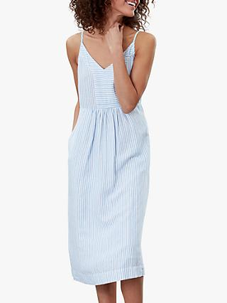 Joules Zoey Stripe Dress, Blue