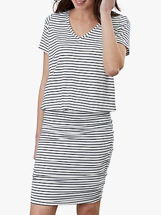 Joules Candice Cotton Striped Dress
