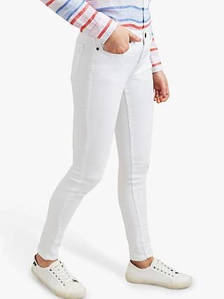Joules Monroe Skinny Jeans, White