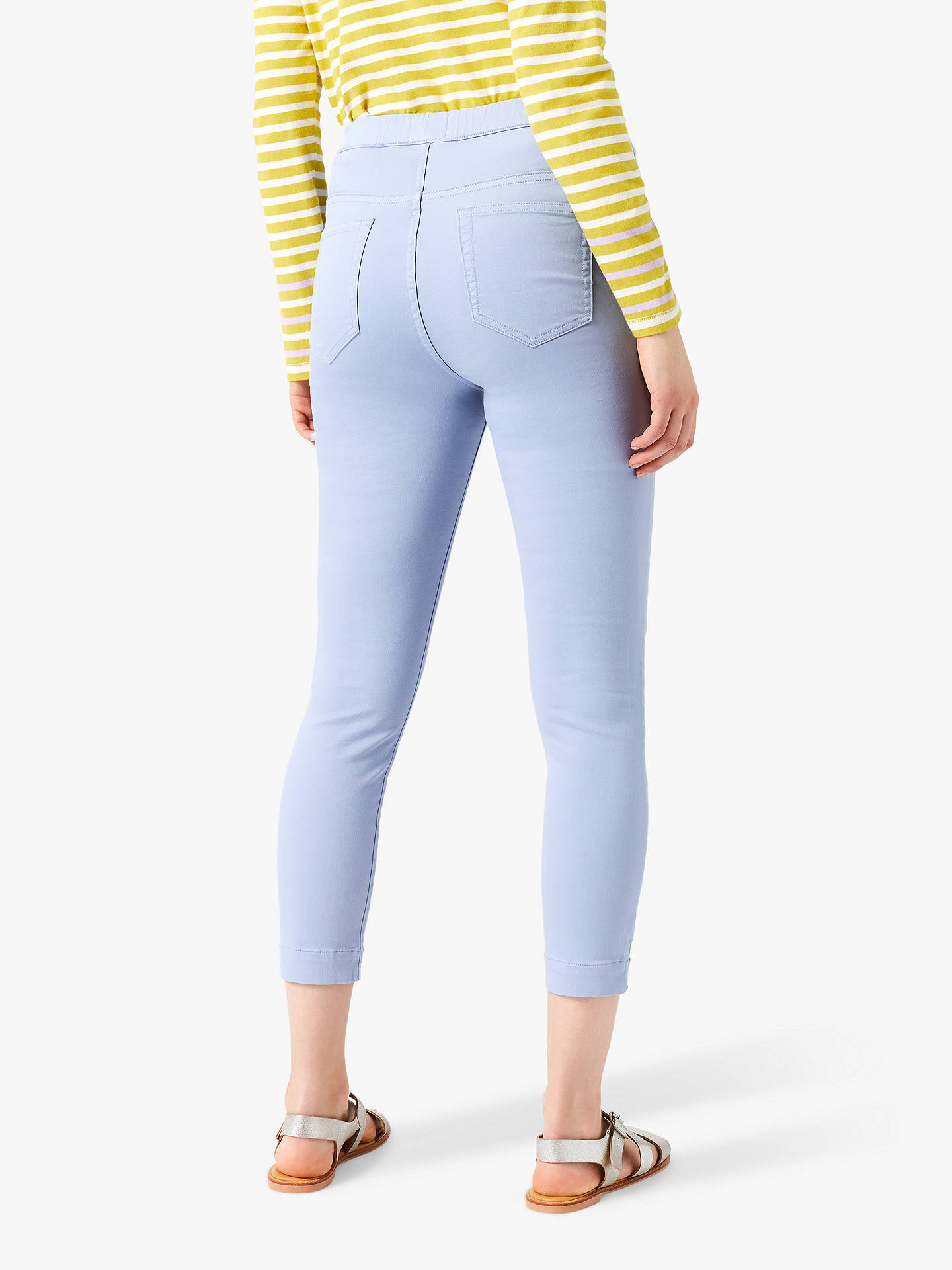 Buy White Stuff Jade Cropped Jeggings, Daytime Blue, 6R Online at johnlewis.com