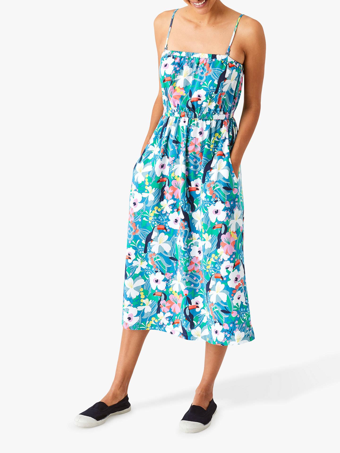 b48c5d7c8cfe7 White Stuff Tropical Toucan Dress, Multi at John Lewis & Partners