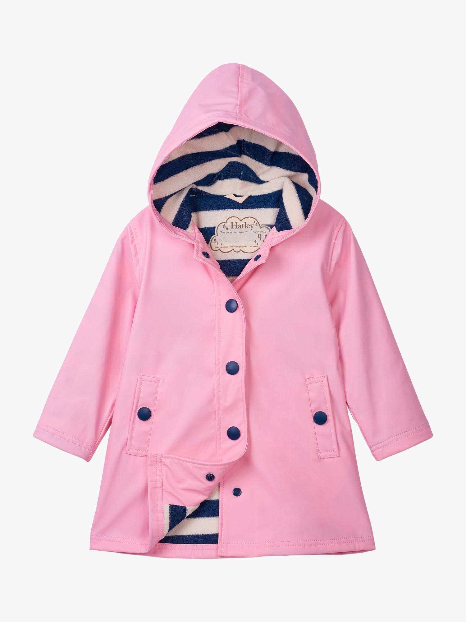 Hatley Hatley Girls' Splash Jacket, Pink