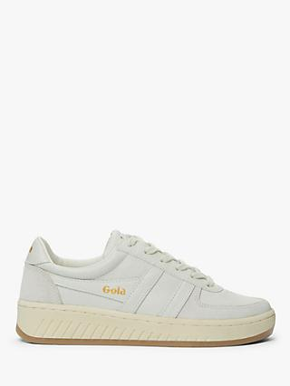 Gola Grandslam Leather Trainers, White