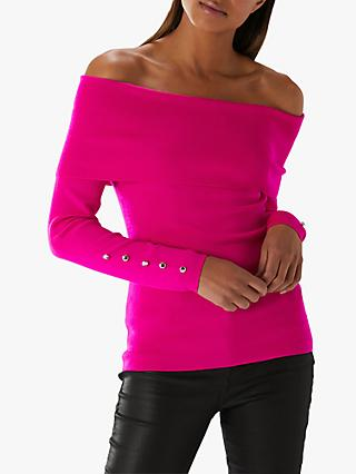 63498f8e3dcaa6 Coast Bayli Knit Bardot Top