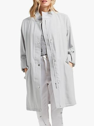 Four Seasons Unlined Parka, Soft Grey