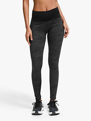 adidas Believe This High-Rise Jaquard Training Tights, Black