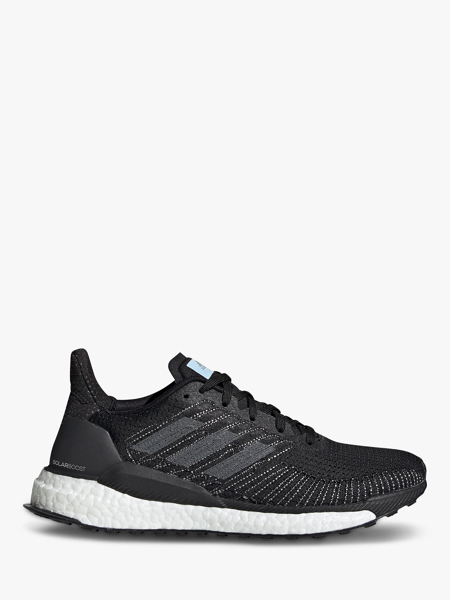reputable site 96890 2f285 adidas Solar Boost 19 Women's Running Shoes, Core Black/Grey Five/Glow Blue