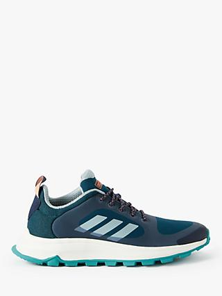 adidas Response Trail X Women's Running Shoes, Trace Blue/Ash Grey/Tech Mineral