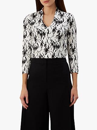 Hobbs Aimee Printed Top