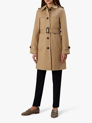 Hobbs Lena Mac Trench Coat, Neutral