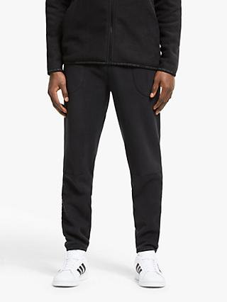 adidas Z.N.E Tapered Tracksuit Bottoms, Black