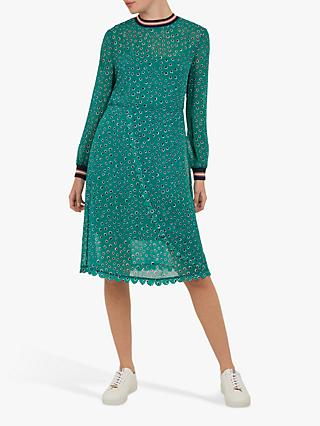 c8039b1d38b475 Ted Baker Colour By Numbers Sibella Floral Dot Wrap Dress