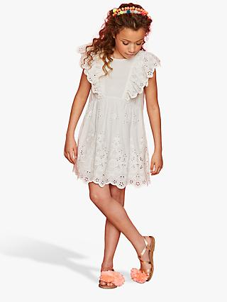 1e1a1e1503e Outside the Lines Butterfly Tie Back Broderie Dress