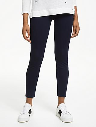 7 For All Mankind Aubrey Slim Illusion Luxe Certainty Jeans, Dark Blue