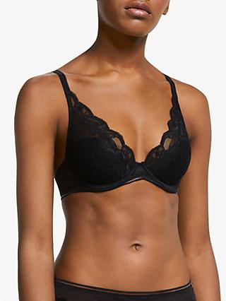 AND/OR Wren Lace Underwired Plunge Bra