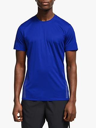 adidas 25/7 Rise Up n Run Parley Running Top, Collegiate Royal