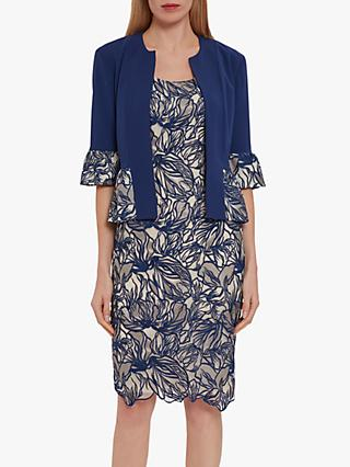 Gina Bacconi Trish Jacket And Dress, Navy
