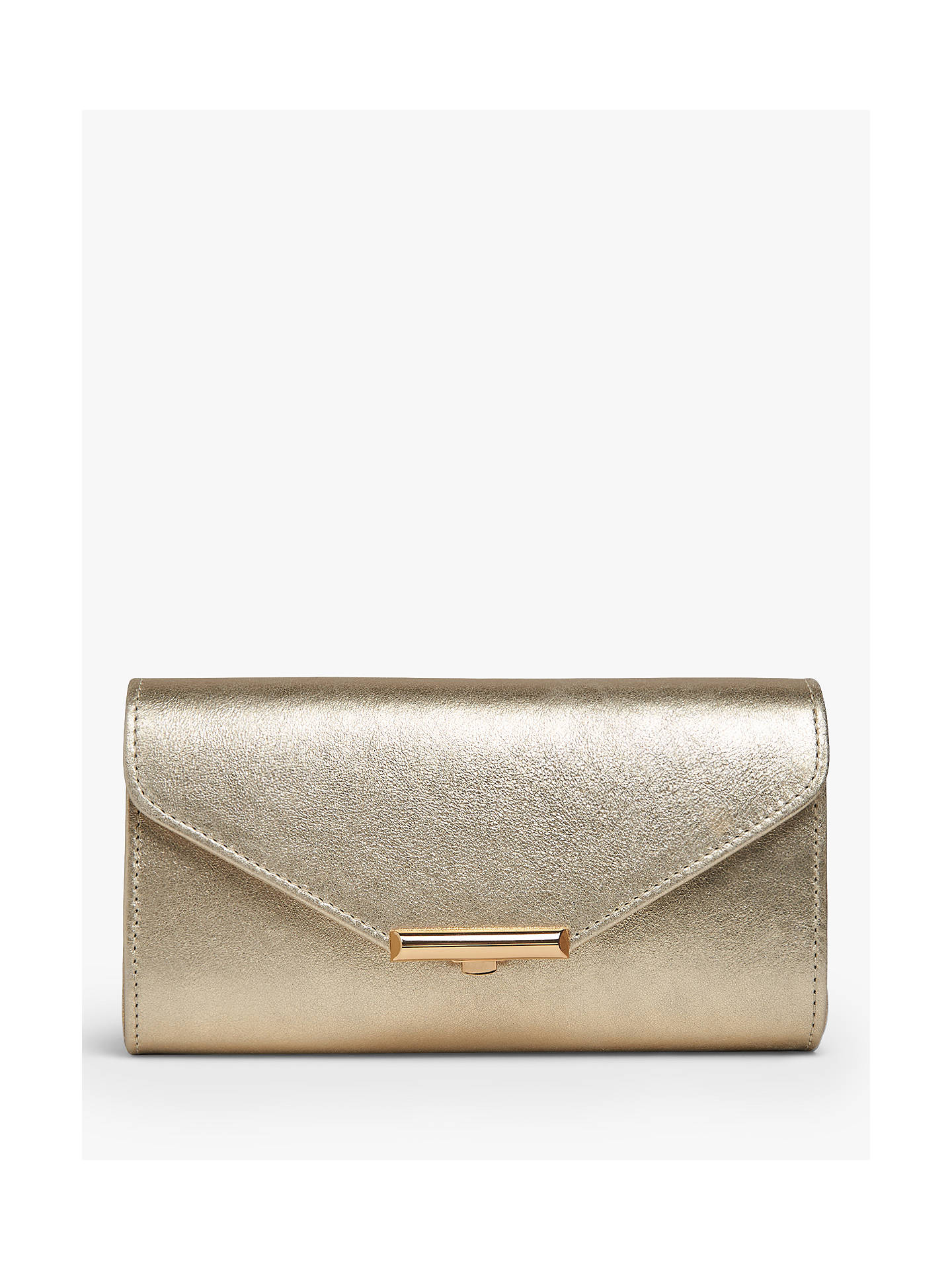 L.K.Bennett Lucy Envelope Leather Clutch