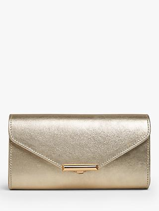 L.K.Bennett Lucy Envelope Leather Clutch Bag 26406683f5873
