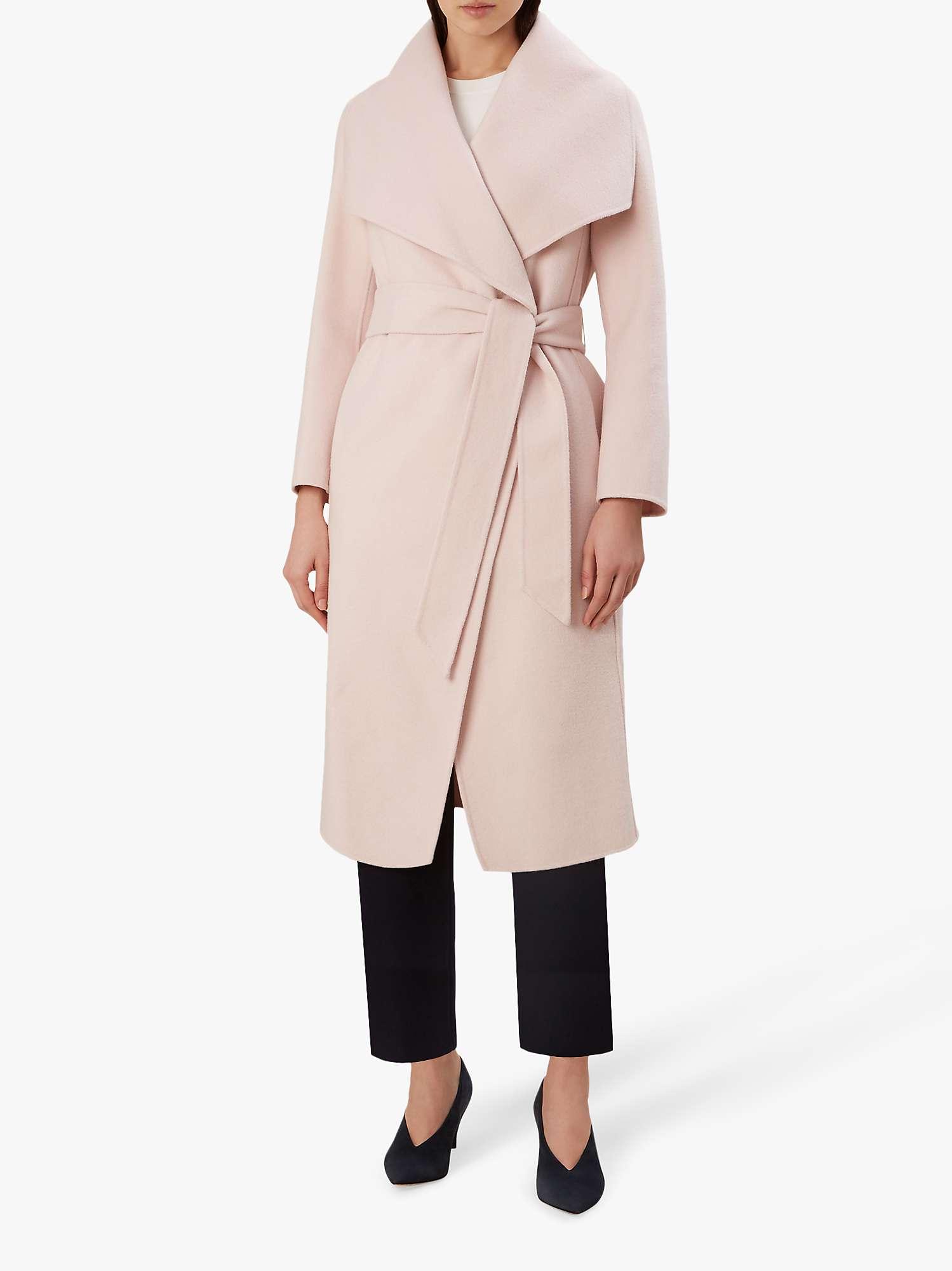 Hobbs Odelia Coat, Pale Pink