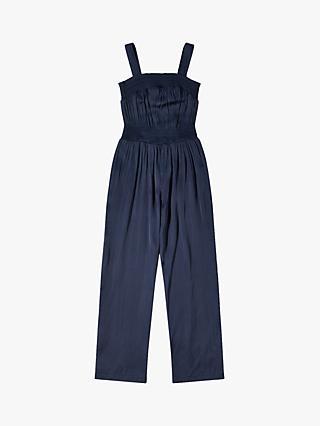 22f01b2d57 Jigsaw Girls  Silky Shirred Jumpsuit