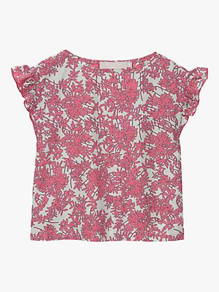 Mintie by Mint Velvet Girls' Daisy Print Top, Pink