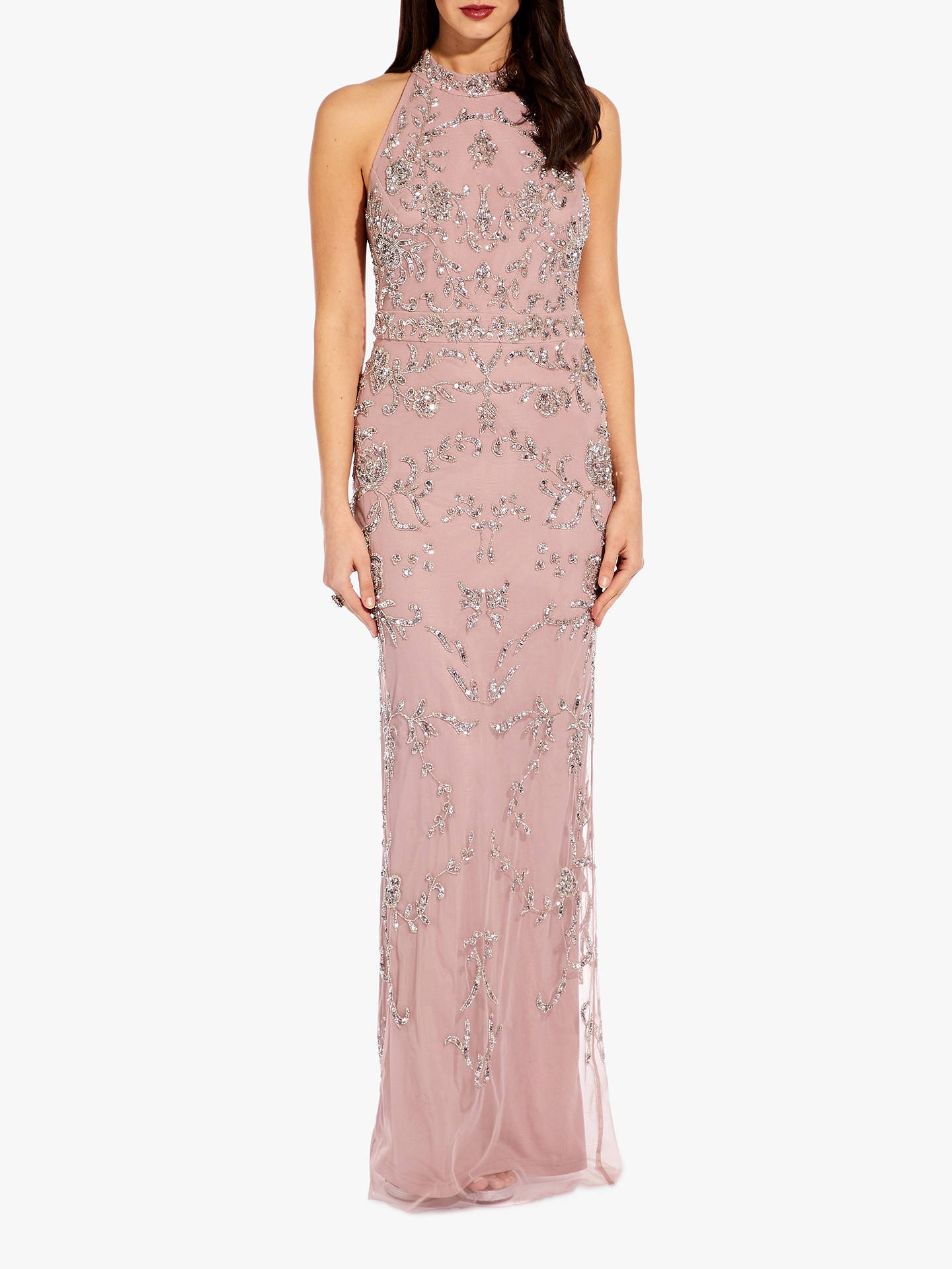 23c0814c3c5 Buy Adrianna Papell Beaded Halter Dress