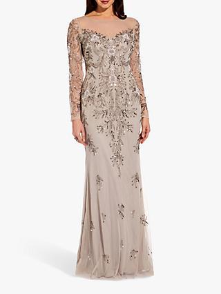 1bc0638c19 Adrianna Papell Beaded Long Dress