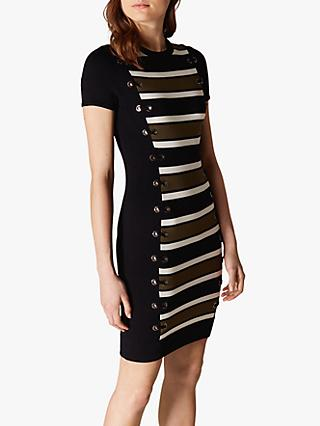 7a7fe44602c Karen Millen Stripe Bodycon Dress